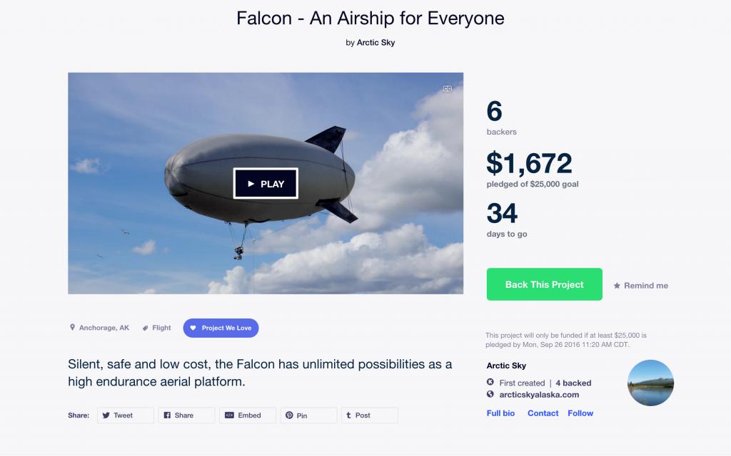 Kickstarter_interface