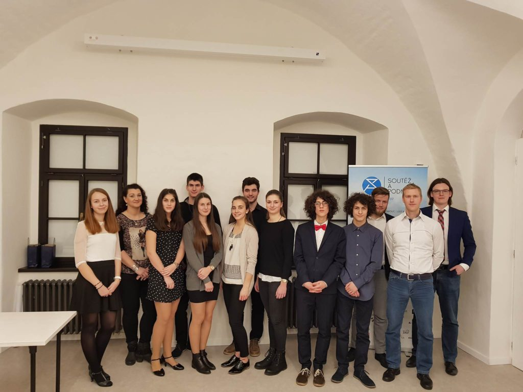Absolventi regionálního finále v Olomouci