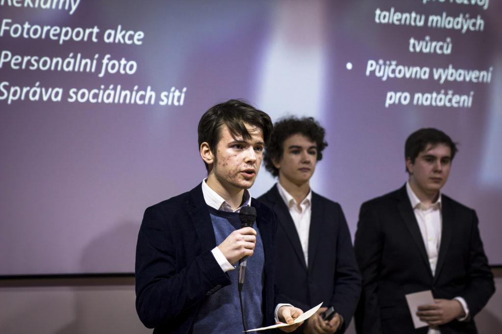 Tým GZ Studio při prezentaci svého projektu v Ústí nad Labem