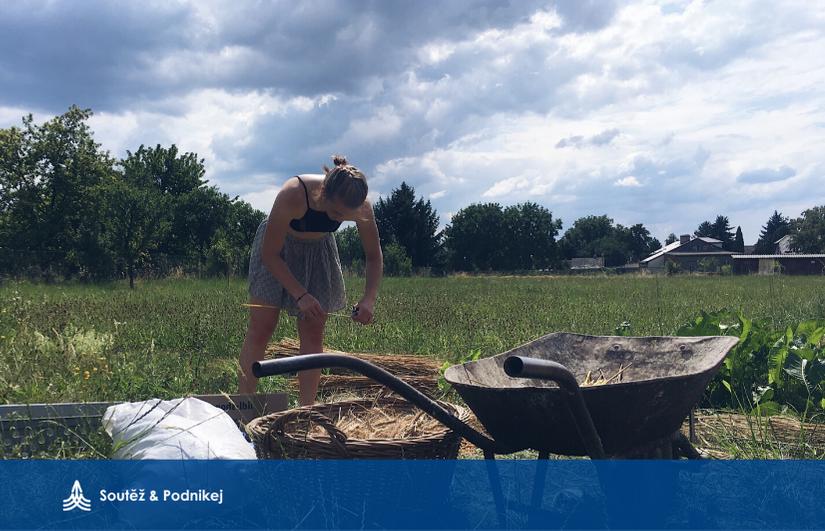 Absolventka Eva Drtilová: O sklízení nejen obrazně, ale i doslova!